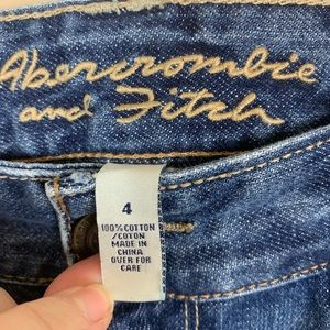 Abercrombie & Fitch Skirts - Abercrombie & Fitch | Jean Skirt